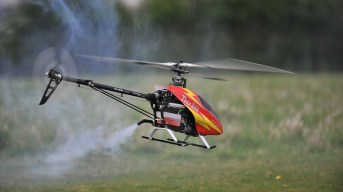 An example of a helicopter drone. Image - CC 3.0 by Paul Chapman