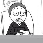 The Rick and Morty courtroom skit is back with an official video