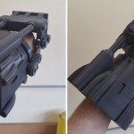 The power fist from Fallout 3 as a 3D print