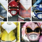 Download and 3D print all five Power Rangers helmets for free
