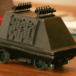 Turn an RC car into a mouse droid from Star Wars with this 3D print