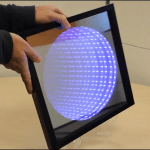 This Arduino 'kaleidoscope infinity mirror' is as cool as it sounds