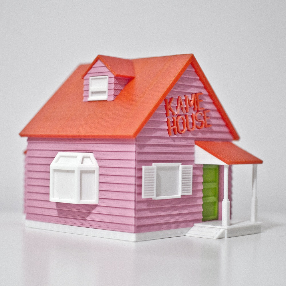 Train With Master Roshi In This 3D Print Of Kame House