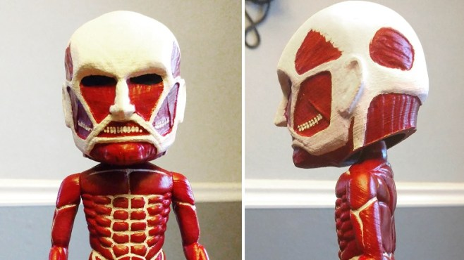 Attack on Titan Bobblehead 3D Print Header Image htxt.africa 2