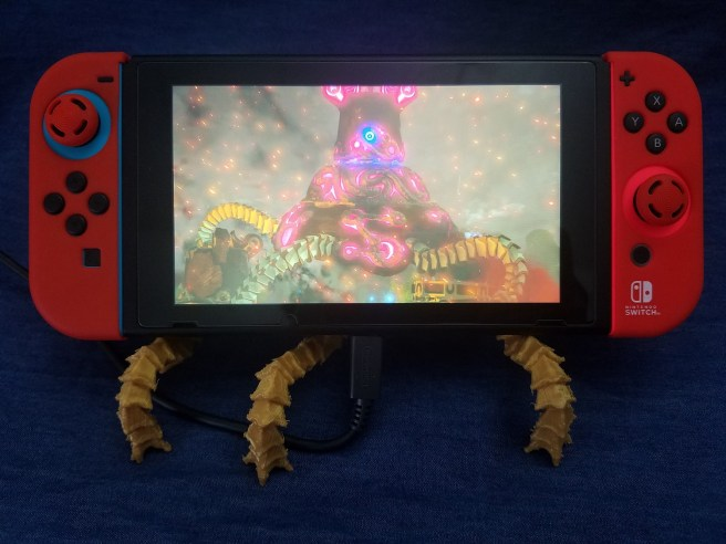The Legend of Zelda Breath of the Wild 3D Print Nintendo Switch Stand Pic 5