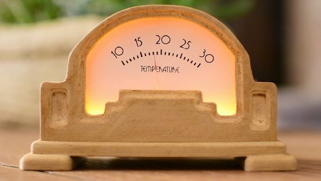 DIY Art Deco Analogue Thermometer Arduino Header Image htxt.africa 2 - Copy