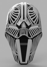 Star Wars Sith Acolyte Mask Pic 2