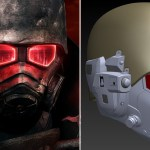Back to Fallout: New Vegas with this 3D print of the NCR ranger's helmet