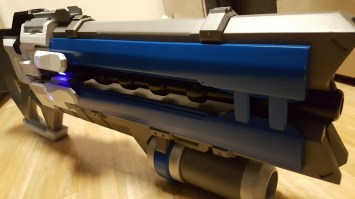 Overwatch Sodier 76 Pulse Rifle 3D Print Pic 3