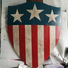 Captian America WW2 Shield 3D Print Pic 4