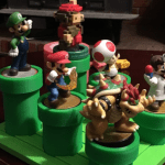 Put all your Mario amiibos in this 3D printed Warp Pipe display