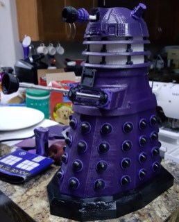 Doctor Who Dalek 3D Print RC Pic 1