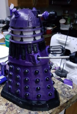 Doctor Who Dalek 3D Print RC Pic 2