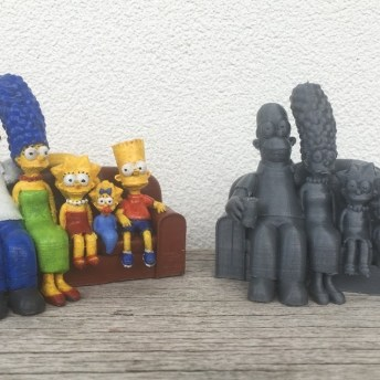 The Simpsons 3D Printed Couch Pic 5