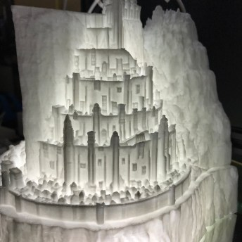 3D Printed Minas Tirith The Lord of the Rings 1