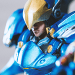 Miniature-quality 3D print of Overwatch's Pharah