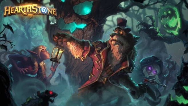 Hearthstone's New Expansion is called The Witchwood