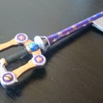 Kingdom Hearts 3D printed for Mickey's new Keyblade