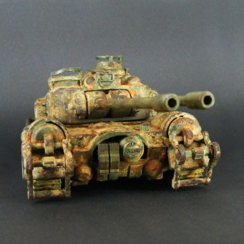 Fallout 4 and 76 Tank 3D Print 4