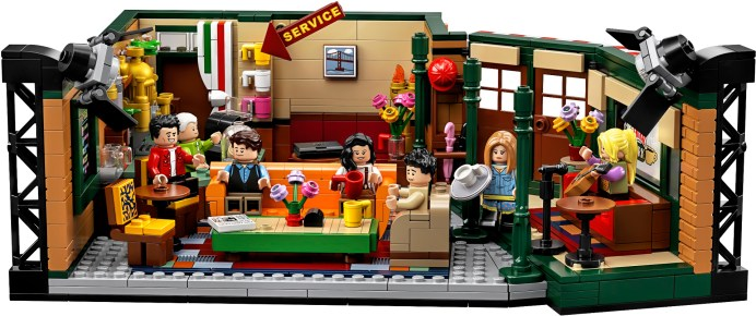 LEGO Ideas 21319 Friends Central Perk Inside 1