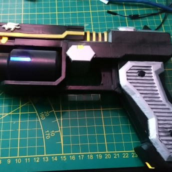 Fox McCloud Blaster 3D Printed 4