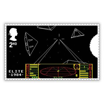 Royal Mail Videogame Stamps 1
