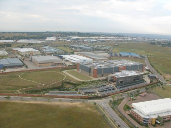 The data centre acquired by Africa Data Centres.