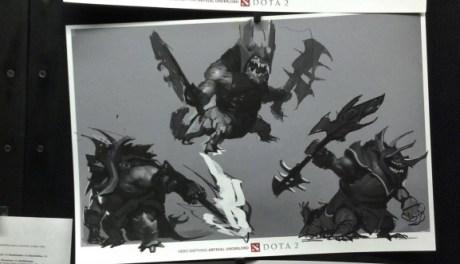 imagens dos novos Heróis do Dota 2