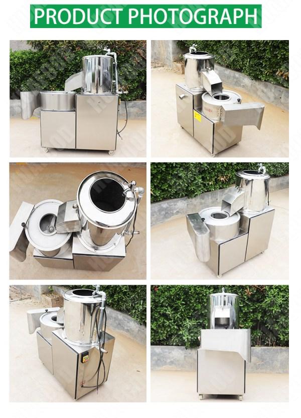 potato peeling and cutting machine (8)
