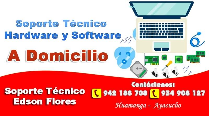 Soporte Técnico Hardware y Software