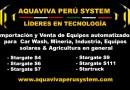 Aquavivaperusystem Sistemas de Lavado en Autos y Camiones