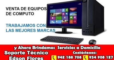 Computadoras Ayacucho Edson Flores