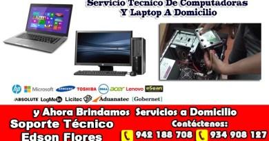 Servicio Tecnico A Domicilio Ayacucho Huamanga