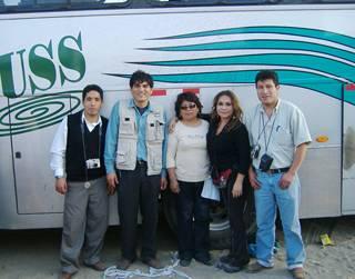 Equipo de Radio Elite-Radio Amistad y Dra Betty Ochoa
