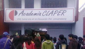 Fachada de la Academia CLAPER