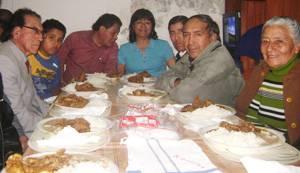Con un almuerzo de confraternidad celebro 11 años  Radio Amistad