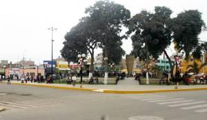 Plaza de Armas de Huaral