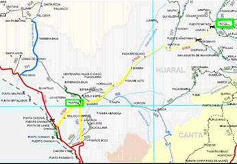 Carretera Huaral - Acos