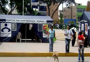 Foto archivo: campaña Hospital de Huaral.