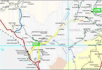carretera Ovalo Chancay - Variante pasamayo - Huaral - Acos.