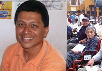Hector Diaz jefe de OMAPED Huaral