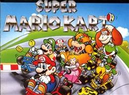Super Mario Kart encabeza la lista.