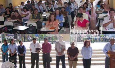 Profesores participaron con entusiasmo y clasificaron diez finalistas.