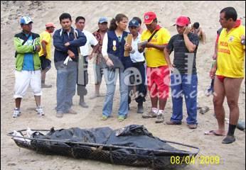 Tras ardua tarea de rescate extrajeron el cuerpo