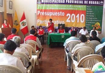 Presupuesto Participativo 2010