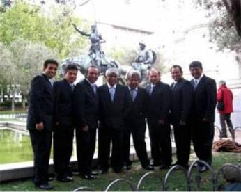 Agrupación cumbiambera reconocida en el mundo Agua Marina Foto:RPP