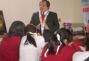 Foto archivo: Charla de la Asociación de Abogados de Huaral.