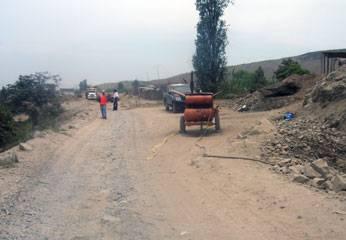 Carretera Huando - Palpa.