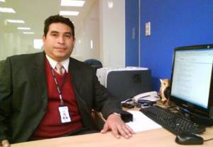 Ángel Soto Mayor Oyola, Coordinador de la agencia  Prymera en Huaral.