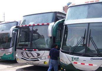 Buses de Turismo Huaral.